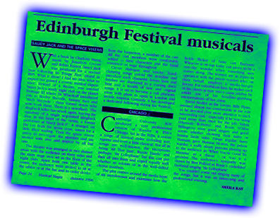Edinburgh Festival Musicals