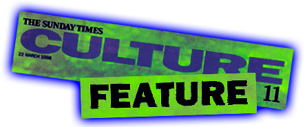 The Sunday Times Culture Feature Mast Head